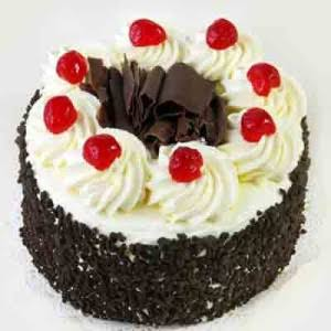 Black Forest Cake- Fresh Cream With Chocochips