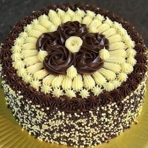 Chocolate butter scotch cake