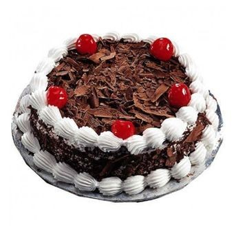 black forest cake- fresh cream with chocolate2