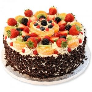 Black forest fresh fruit