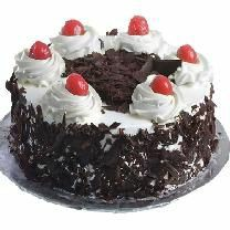 Black forest cake for birthday and parties