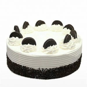 Oreo cake- Simple Oreo cake in black forest for kids birthday
