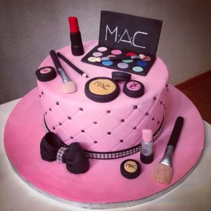 Special Makeup chocolate cake