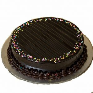 Sprinkle chocolate truffle cake for birthday and other occasion